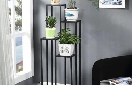 JFR-010 Best 4 Tier Plant Stand /Black Flower Stands01