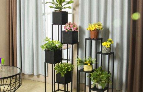 JFR-010 Best 4 Tier Plant Stand /Black Flower Stands02