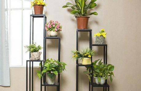 JFR-010 Best 4 Tier Plant Stand /Black Flower Stands04