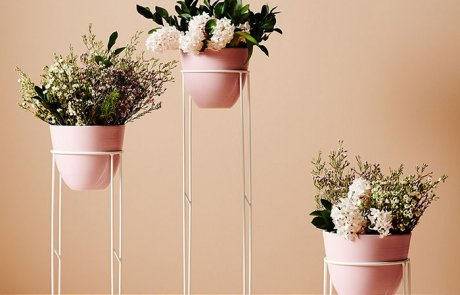JFR-011 Pedestal Outdoor Plant Flower Stand /Rack Plant Cheap04