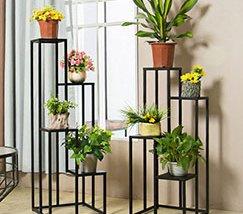 JFR-010 Best 4 Tier Plant Stand /Black Flower Stands1