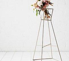 JFR-008 Movable Flower Display Racks /Indoor Flower Stands01