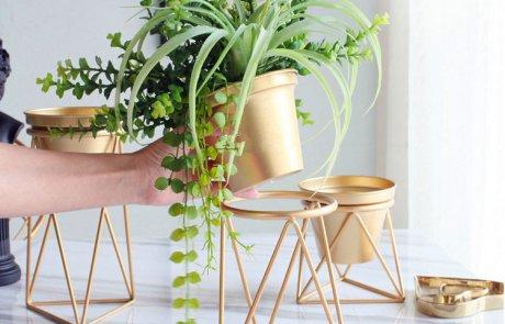 JFR-021 Wire Flower Stands /Flower Pot Stand02