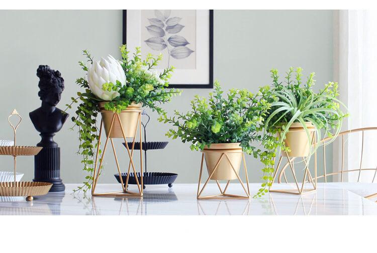 JFR-021 Wire Flower Stands /Flower Pot Stand2