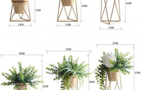 JFR-021 Wire Flower Stands /Flower Pot Stand07