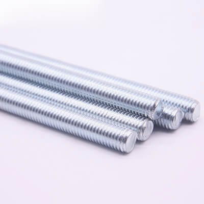 Threaded Rod with Full Thread, Zinc Plated, Class 4.8