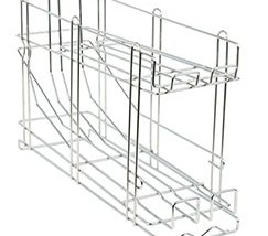 Galvanized Steel Wire Stackable Can Rack Organizer