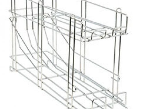 Galvanized Wire Stackable Can Rack Organizer