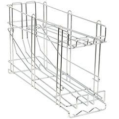 Galvanized Steel Wire Stackable Can Rack Organizer
