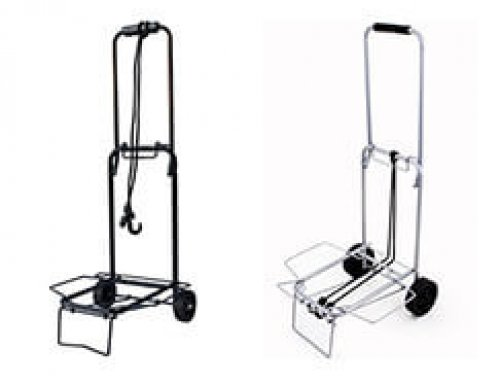 Outdoor Metal Luggage Trolley Folding Travel Cart